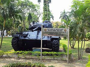Chafee Tank at Eastern Army Command HQ, Hastings, Kolkatta
